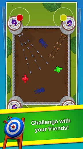 Stickman Cartoon Survival : 1 - 4 Players screenshots 2
