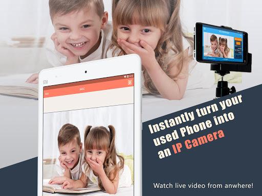 AtHome Camera - phone as remote monitor android2mod screenshots 6