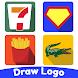 トリビアパズル脳ゲーム - ロゴクイズを描きます