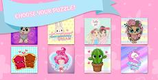 ジグソーパズル:女の子のためのゲームのおすすめ画像1