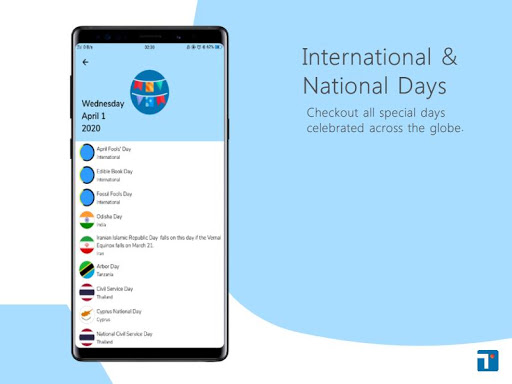Download APK: Today – International Days Calendar v3.6 [Premium]