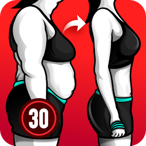 Lose Weight App for Women Workout at Home 1.0.22 by Leap Fitness Group logo