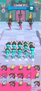 Merge Army 3D! Mod Apk 0.2 (A Lot of Money) 3