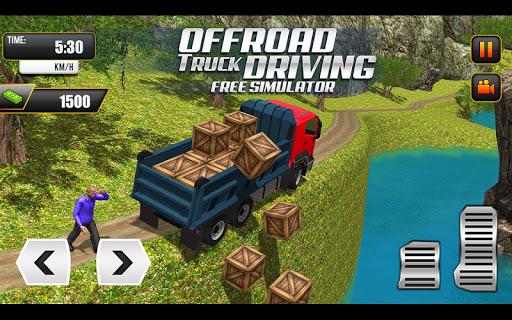 Offroad Truck Driving Simulator: Free Truck Games Apkfinish screenshots 11