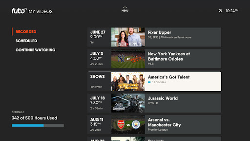 fuboTV: Watch Live Sports & TV 4.39.2 Screenshots 11