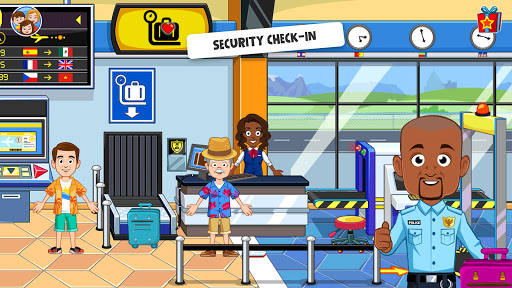 My Town : Airport. Free Airplane Games for kids 1.01 screenshots 3