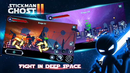 Stickman Ghost 2 v6.6 MOD APK – Galaxy Wars Shadow Action RPG 1