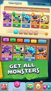 Monster Tales - Multiplayer Match 3 Puzzle Game Screenshot