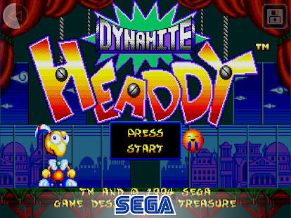 Dynamite Headdy - Classic Screenshot