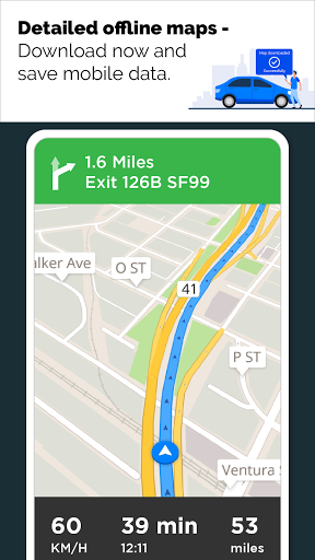 GPS Live Navigation, Maps, Directions and Explore  Screenshots 8