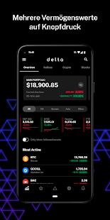 Delta Investitions-Portfolio-Tracker Screenshot