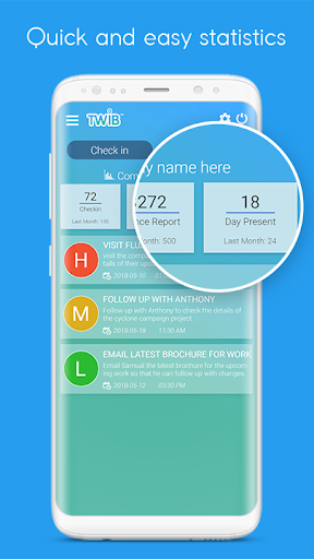 Sales Reporting, GPS Employee Tracking, Attendance screenshots 2