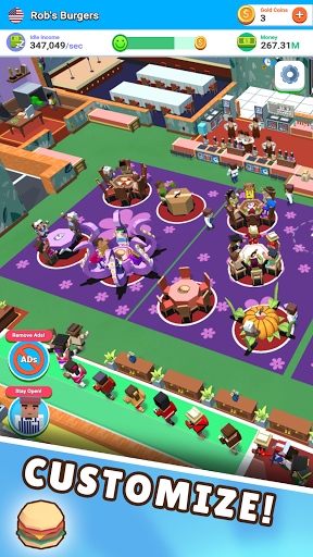 Idle Diner! Tap Tycoon 52.1.156 screenshots 2