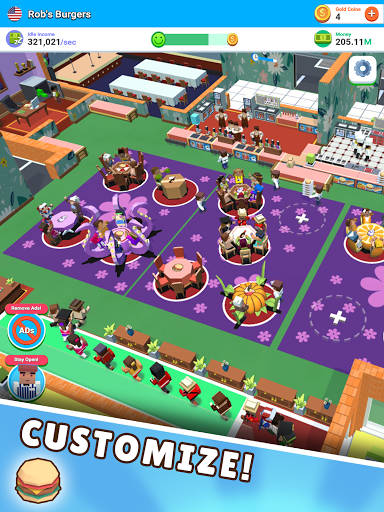 Idle Diner! Tap Tycoon 51.1.154 screenshots 18