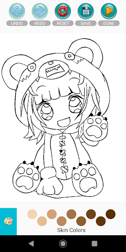Coloring Pages for Gacha Club 2021 screenshots 7