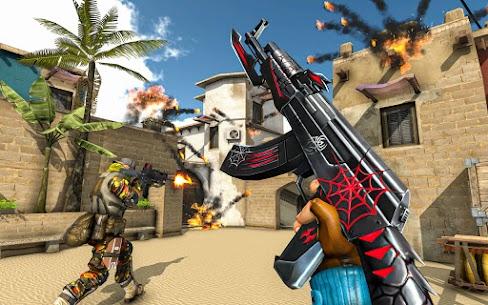 FPS Counter Attack Mod Apk – Terrorist Shooting (Dumb Enemy) 2