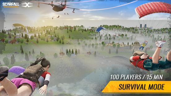 ScarFall: le combat royal screenshots apk mod 2