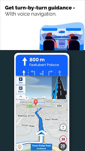 GPS Live Navigation, Maps, Directions and Explore  Screenshots 18
