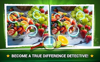 Find the Difference Fruit – Find Differences Game
