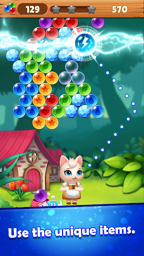 Bubble Shooter Cats POP : Puzzle Mania 1.1.3 screenshots 21