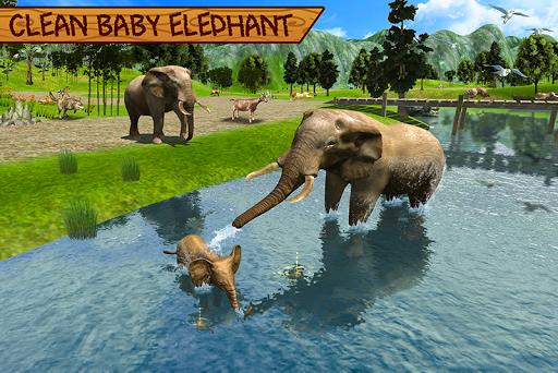 Wild Elephant Family Simulator apkpoly screenshots 4