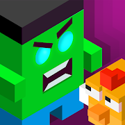 Zombie Puzzle: Save the Chicks. Zombie Catchers!