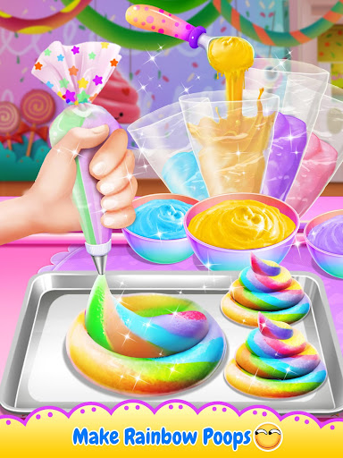 Unicorn Poop - Sweet Trendy Desserts Food Maker 1.6.2 screenshots 10