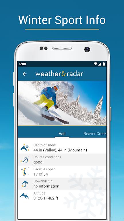 Weather & Radar USA - Storm alerts - ad free  poster 4