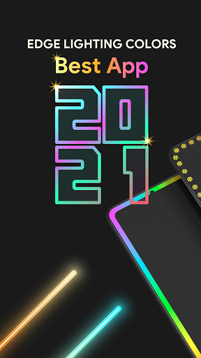 Edge Lighting Colors - Round Colors Galaxy  Screenshots 3