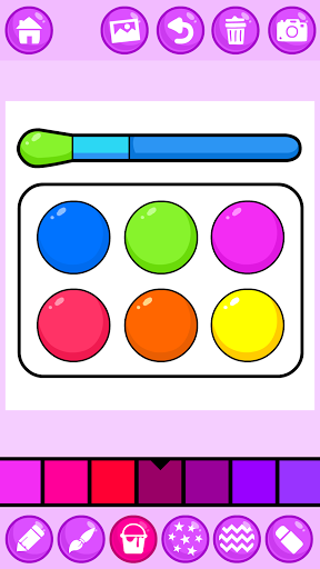 Beauty Makeup: Glitter Coloring Game for Girls 3.0 screenshots 11