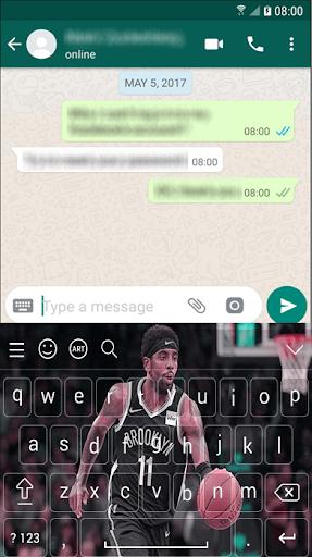 kyrie irving nets keyboard nba 2k20 for lovers screenshot 3