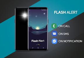 Flash alert for all notification - Sms alert flash