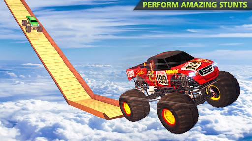 Monster Truck Stunts on Impossible Track New 2021 apktram screenshots 4