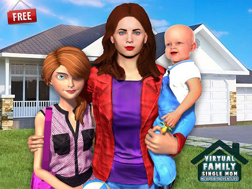 New Baby Single Mom Family Adventure apkdebit screenshots 15