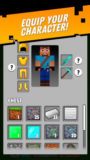 Minetap: Epic Clicker! Tap Crafting & mine heroes  screenshots 16