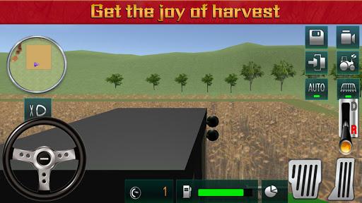 Farmeru00a0Harvestu00a0Simulatoru00a03Du00a0-u00a0Tractoru00a0Hauling  screenshots 2