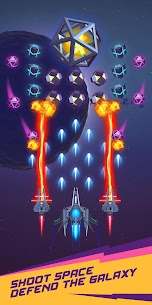 Dust Settle 3D-Infinity Space Shooting Arcade Game MOD APK (Unlocked) 3