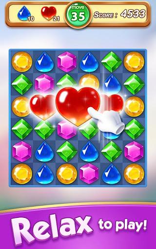 Jewel & Gem Blast - Match 3 Puzzle Game 2.5.1 screenshots 9