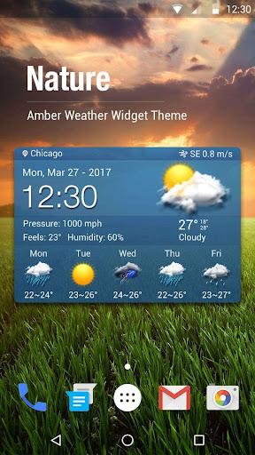 weather report app& widget ⛅ . screenshot 1
