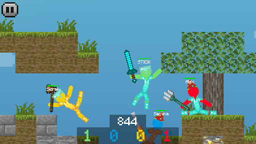 Stickman vs Multicraft: Ragdoll Fight  screenshots 5