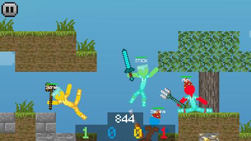 Stickman vs Multicraft: Ragdoll Fight screenshots 5