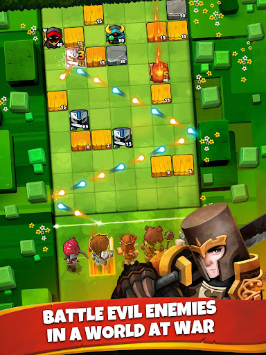 Battle Bouncers - RPG Puzzle Bomber & Crusher 1.13.0 screenshots 9
