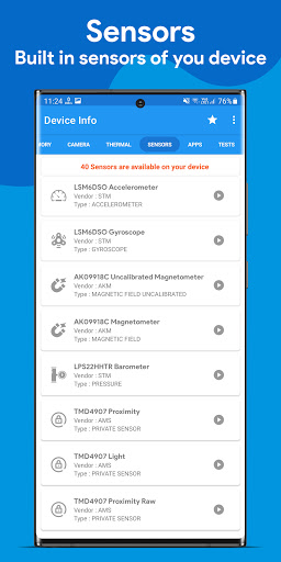 Device Info : View Device Information android2mod screenshots 4