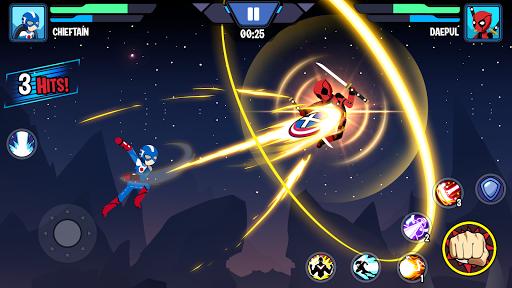 Stickman Superhero - Super Stick Heroes Fight  screenshots 11