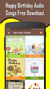 Happy Birthday Songs Offline screenshots 1
