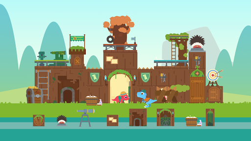 Dinosaur City - Magical Block Kingdom for Kids  screenshots 6