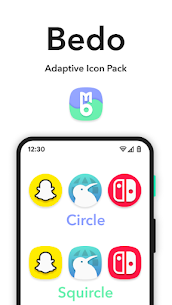 Bedo Adaptive Icon Pack APK (PAID) Download Latest 2