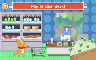 Cats Pets: Store Shopping Games For Boys And Girls