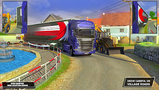Silk Road Truck Simulator : Offroad Cargo Truck Mod 2.3.5 Apk [Unlimited Money] 3