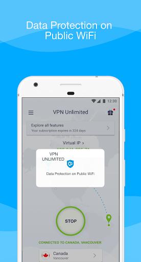 VPN Unlimited - Free VPN Proxy Shield 8.4 Screenshots 7